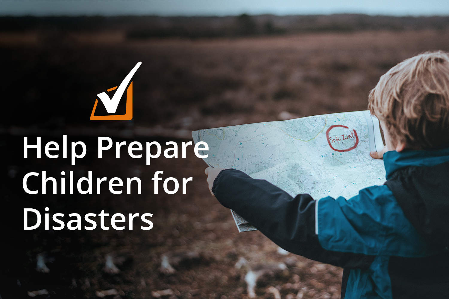 help children prepare for disasters
