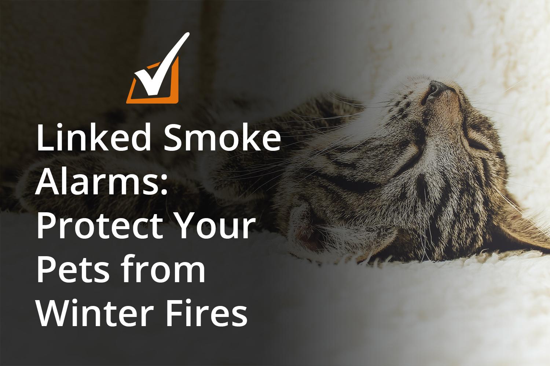 Linked smoke alarms